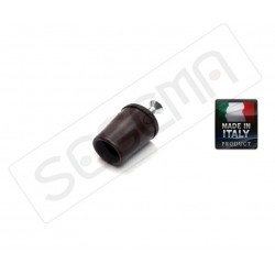 Brown plastic sealing plug for shutter