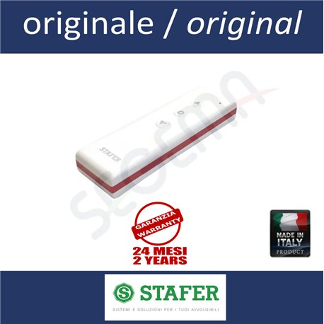 Single-channel remote for STAFER RED shutters and awnings