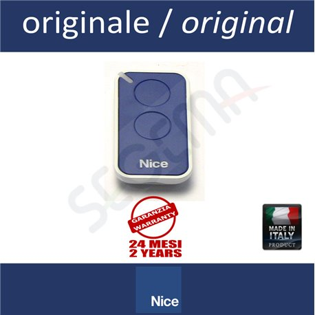 INTI2B 2-button blue