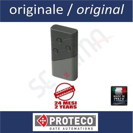 Telecomando PROTECO 3 pulsanti 433MHz