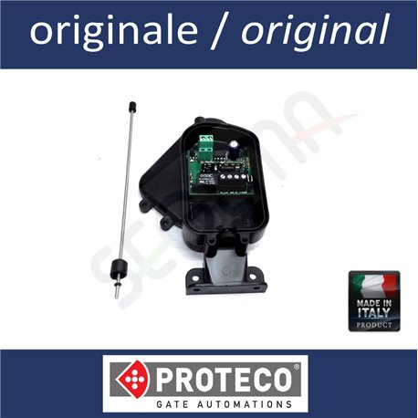 Ricevente da esterno monocanale a 433 MHz per telecomandi PROTECO