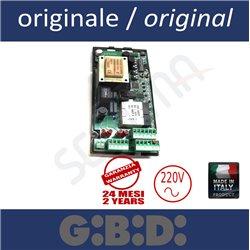 SC230 scheda di comando per scorrevoli 220V GIBIDI
