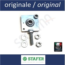 Bracket with hole diam. 12 and bearing for shutter tube