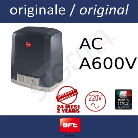DEIMOS AC A600 Operatore veloce per cancelli scorrevoli fino a 370Kg