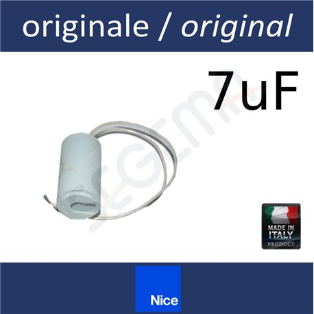 Condenser 7mF for NICE operators