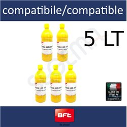 Oil for BFT operators saving pack 5 LT