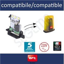 Scheda a LED alta efficienza per lampeggianti BFT