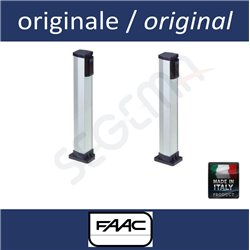 Pair of posts for FAAC photocells