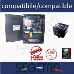 Centrale 220V compatibile con ALCOR per ORO/LUX/SUB