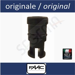 Valve retainer cap for FAAC operators