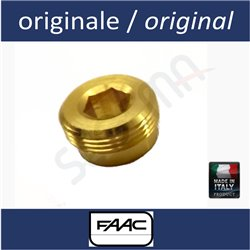 Brass valve retaining ring nut