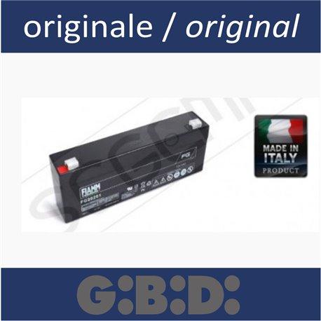 Battery 12V for emergency battery pack GIBIDI motor