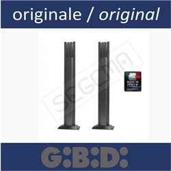 Pair of posts for GIBIDI photocells