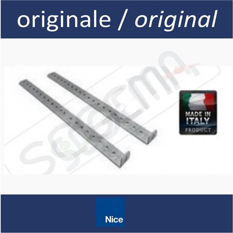 Two brackets kit for ceiling anchoring NICE automatisms