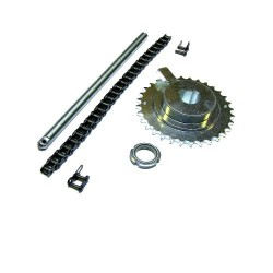 Kit pinion and chain for  BGV 60