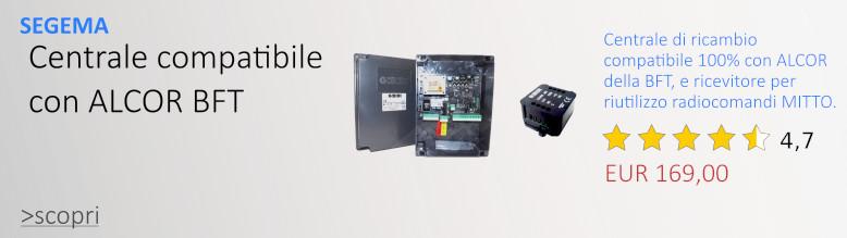 Centrale compatibile con ALCOR della BFT